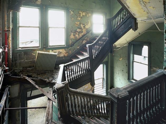 broken stairway