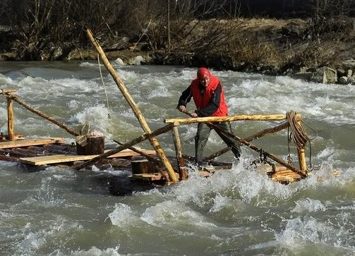 raft on rapids