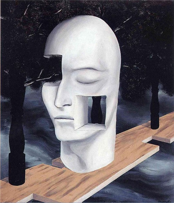magritte face of genius 2