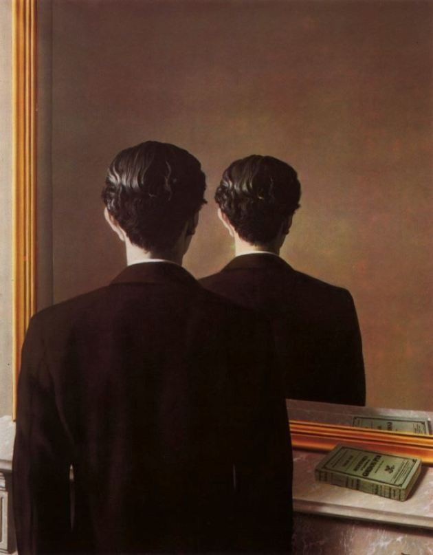 magritte Not to be reproduced