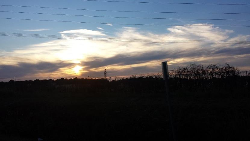 west virginia sunset