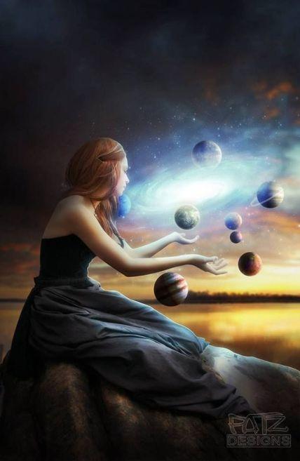 woman planets